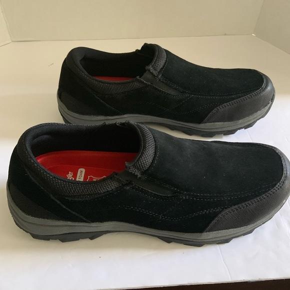Black Suede Slip On Loafers | Poshmark